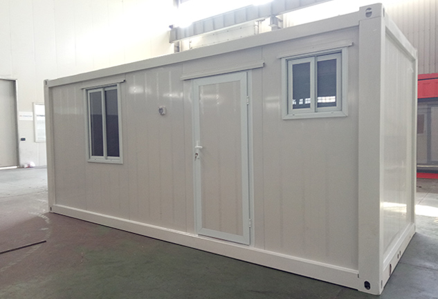 Flat pack container house is usually used as a temporary building