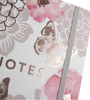 Enterprise Hardcover Notebook Customization