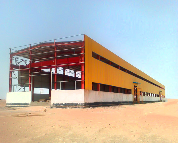 Steel structure warehouse has played a big role in engineering construction