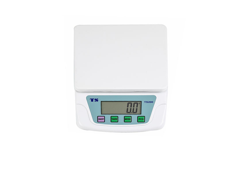 What are the characteristics of electronic kitchen scales?
